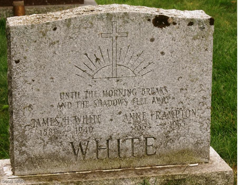 Annie gravestone