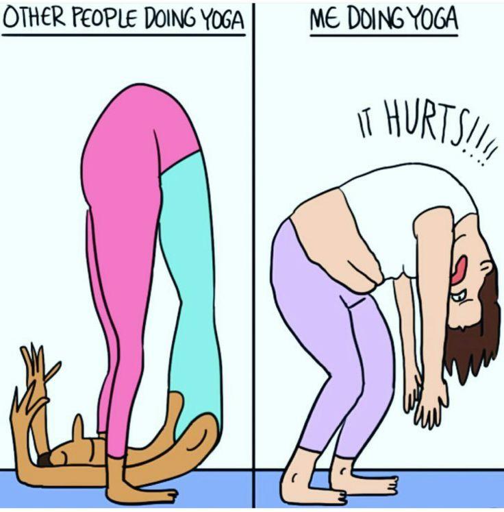 funnier yoga
